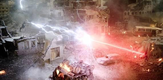 Başarıyla kullanılan özel efektler, Harry Potter'ı anımsatsa da Storm vs. Cyclopse.