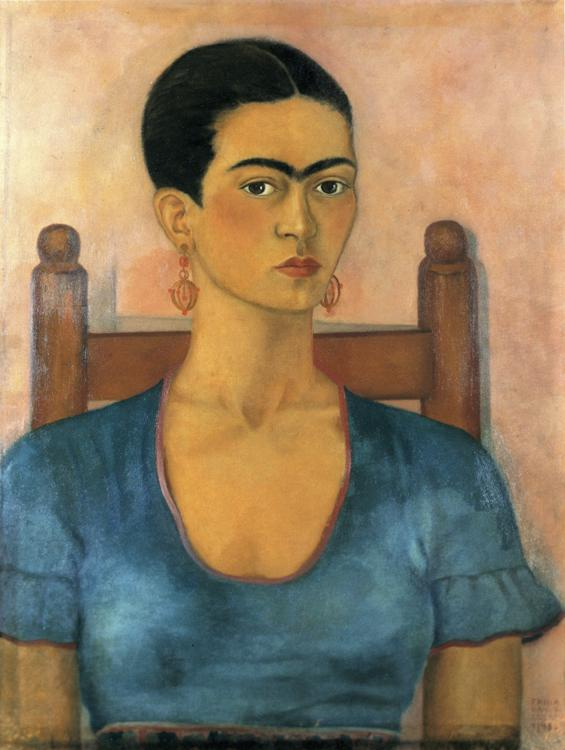 "Frida Kahlo; ""Self Portrait, 1930"""