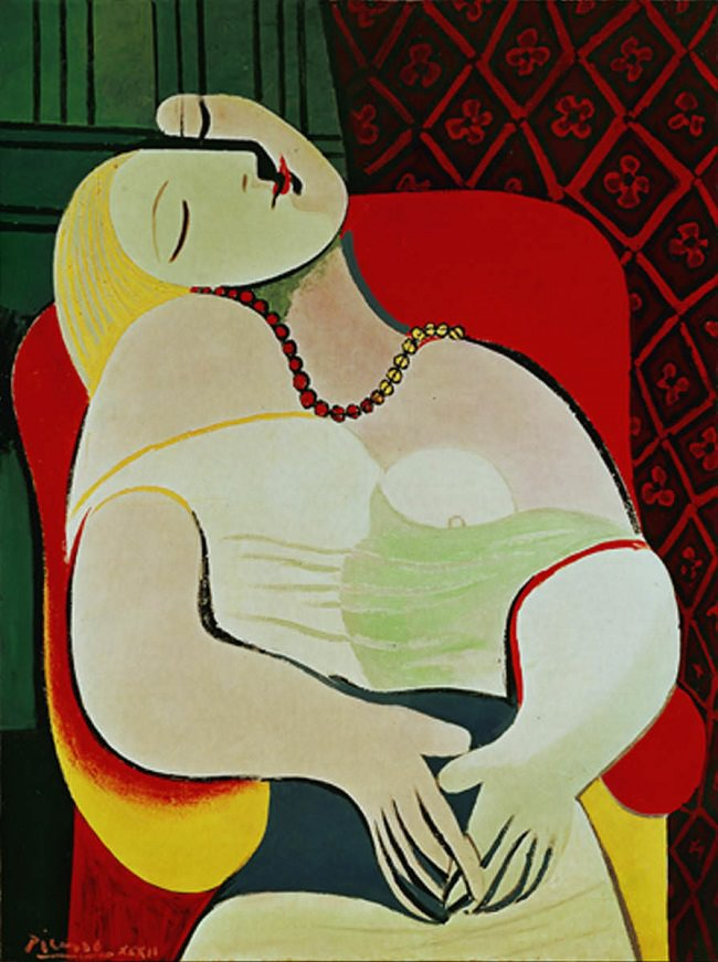 "Picasso; ""The Dream, 1932"""