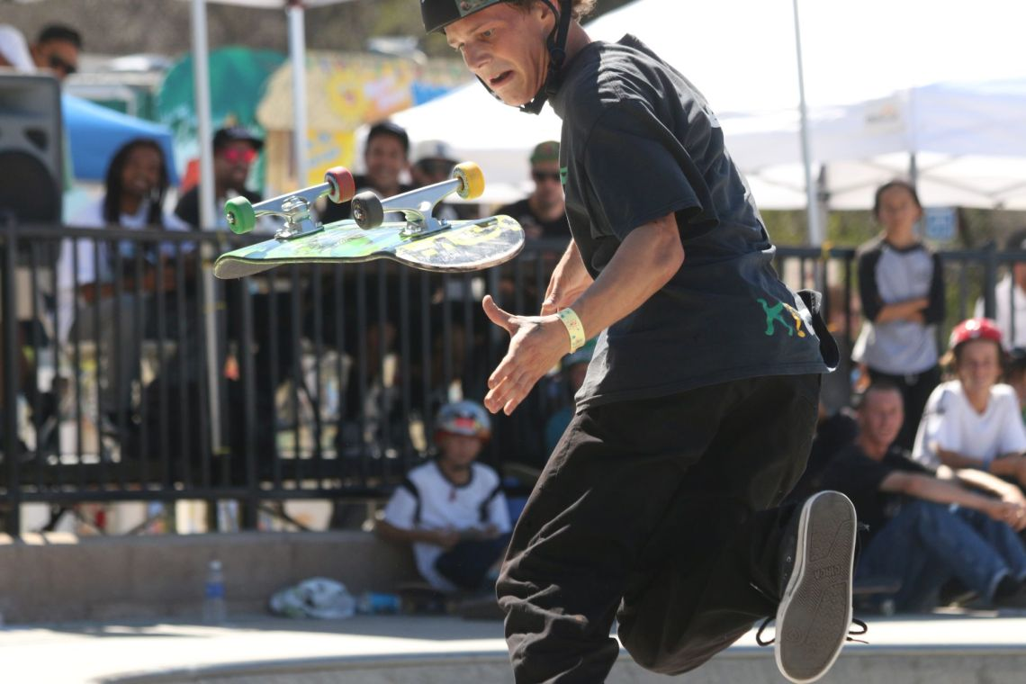 15th San Clemente Open Sakte on Saturday at Ralph's Skate Court. Photo: Eric Heinz