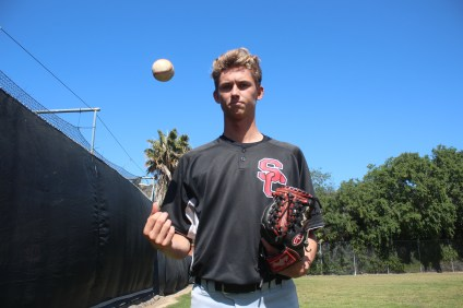 After a four-year absence, San Clemente senior pitcher Conner Dand decided to return to the mound in 2016. Photo: Steve Breazeale