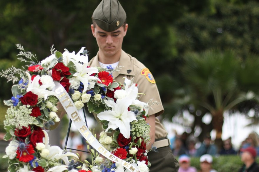 Memorial Day was celebrated at two locations in San Clemente on Monday, May 29. One event took place at the San Clemente Community Center and the other at Park Semper Fi. Photos: Eric Heinz