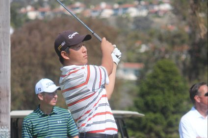 San Clemente's Alex Pak will compete in the CIF Southern Regional Individual tournament on May 18. Photo: Steve Breazeale