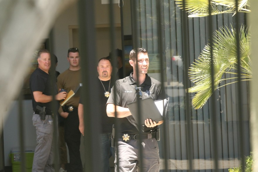 FBI agents raided Sovereign Health, a behavioral health treatment provider based in San Clemente, on Tuesday, June 13. The nature of the investigation has not been revealed by the FBI. Photo: Eric Heinz
