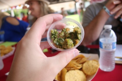 Some of the most creative concoctions of salsa were presented at this year's Fiesta Music Festival on Aug. 13.