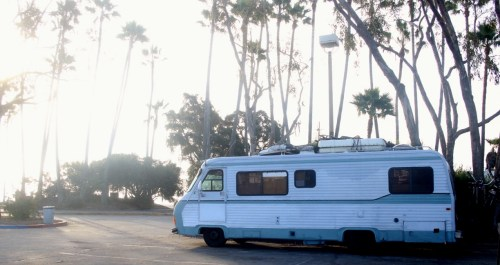 At Doheny State Beach, people who live in RVs and other vehicles said there are easily 30 to 40 people who utilize their day passes during open hours, and have to exit each night. Photo: Eric Heinz