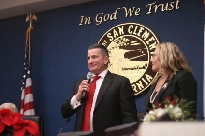 Tim Brown was selected as the next mayor of San Clemente at the Dec. 5 City Council meeting. This is Brown's second term as mayor; he previously held the position in 2014. Photo: Eric Heinz