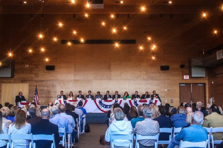 Eleven of the 16 candidates for the 49th congressional district in California were present at a forum on April 25 at the Ocean Institute in Dana Point.