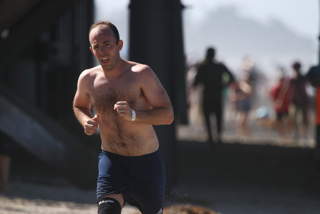 Early on Sunday morning, July 22, the 5K beach run/walk took place on the San Clemente beaches as part of Ocean Festival. Photo: Eric Heinz