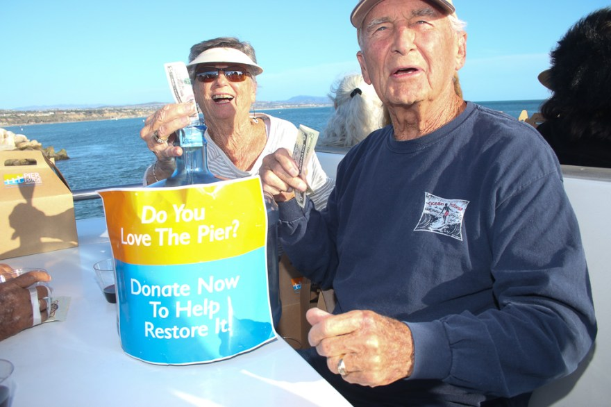 Donations were collected for Pier Pride during the Oct. 11 cruise.