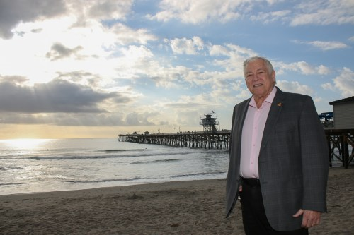 Mayor Steve Swartz and the incoming San Clemente City Council will have plenty of issues to tackle in 2019. Photo: Eric Heinz