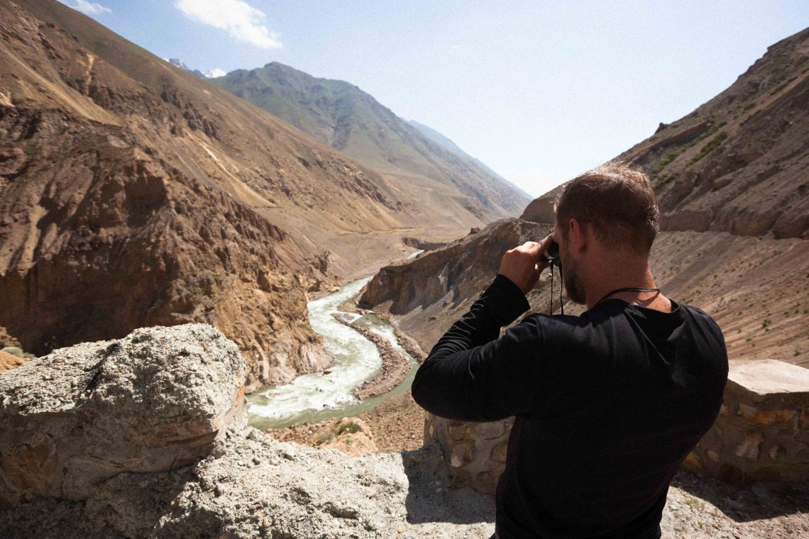 Searching for surf in the turbulent waters of Afghanistan's Panjshir Valley. Photo: Courtesy of Unsurfed Afghanistan