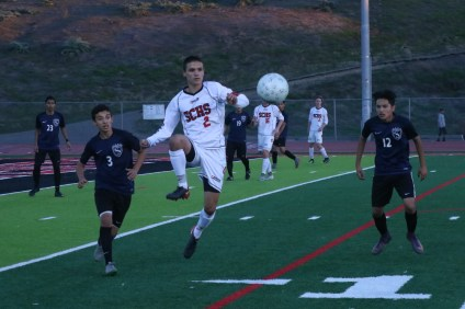 The San Clemente boys soccer team has had success in early-season tournaments and looks primed for a strong run in league and beyond. Photo: Zach Cavanagh