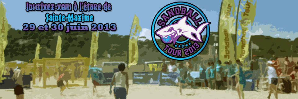 Sandball Tour 2013 / Sainte-Maxime