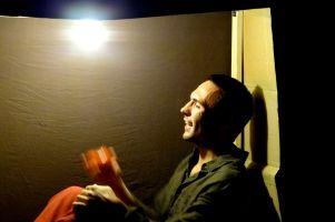 Derek Lee Miller in Sandbox Theatre's Summer Suitcase (2013)