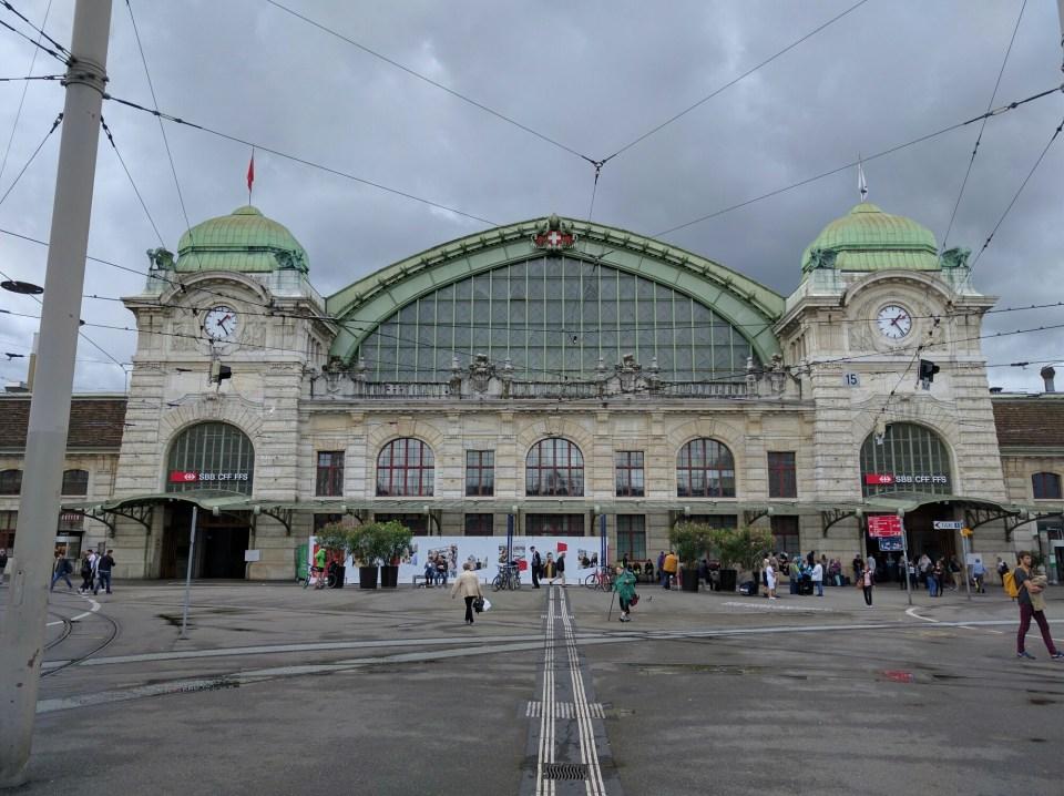 Basel train station