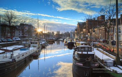 Noorderhaven sunset