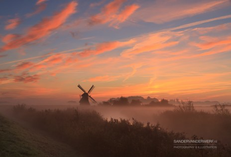 Sunrise in Holland
