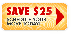 Save $25 on your San Diego Move