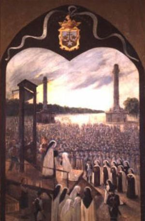Nuns to be guillotined