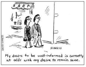 News cartoon