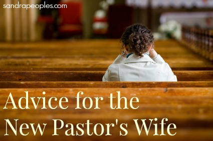 Advice for the New Pastor's Wife