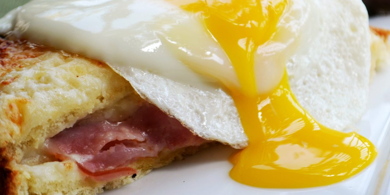Celebrating National Egg Month with the Delicious Croque Madame