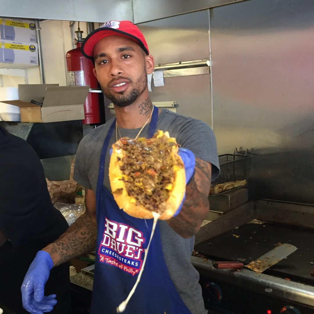 Derrick Hayes, Owner of Big Dave's Cheesesteaks