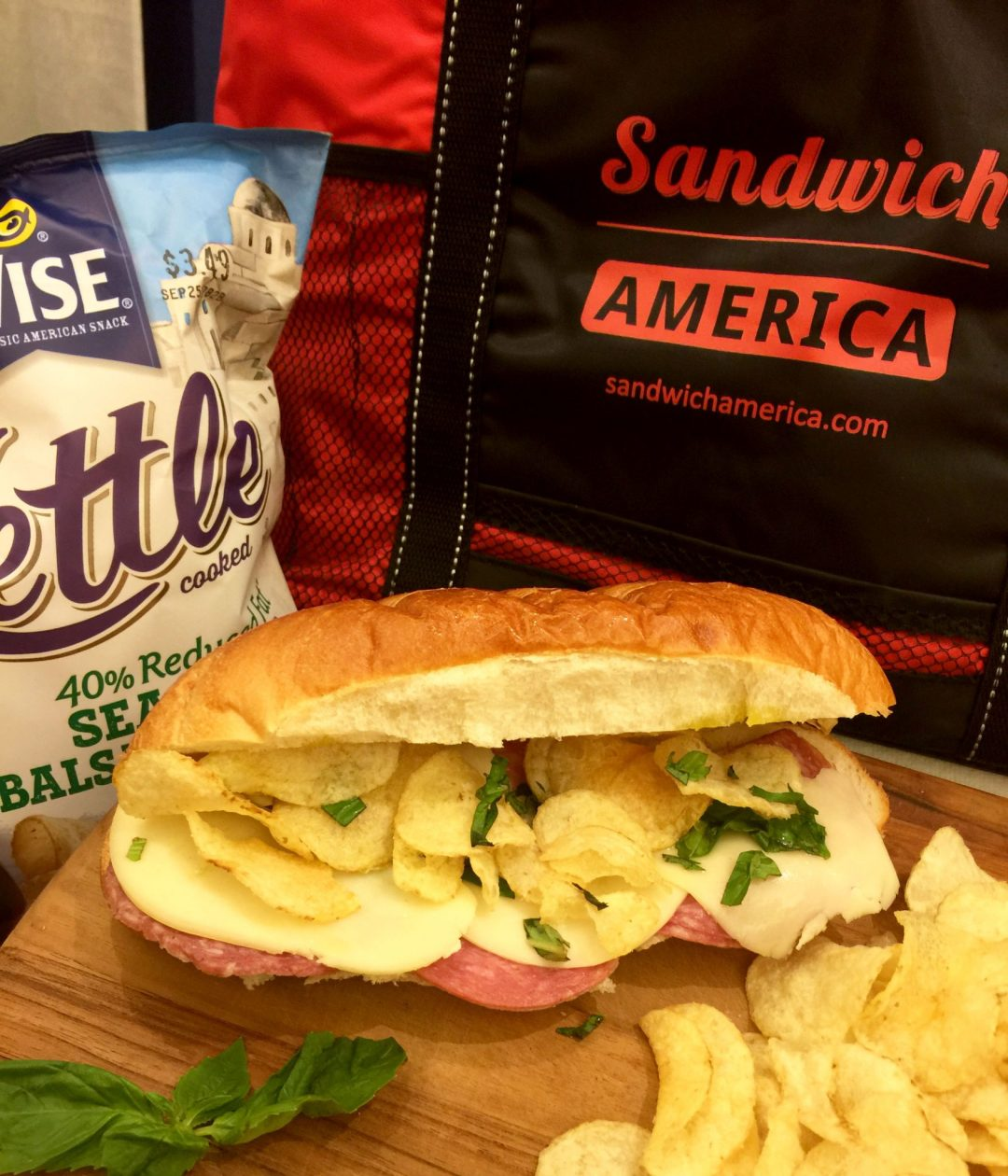 Sandwich America and Wise Chips!