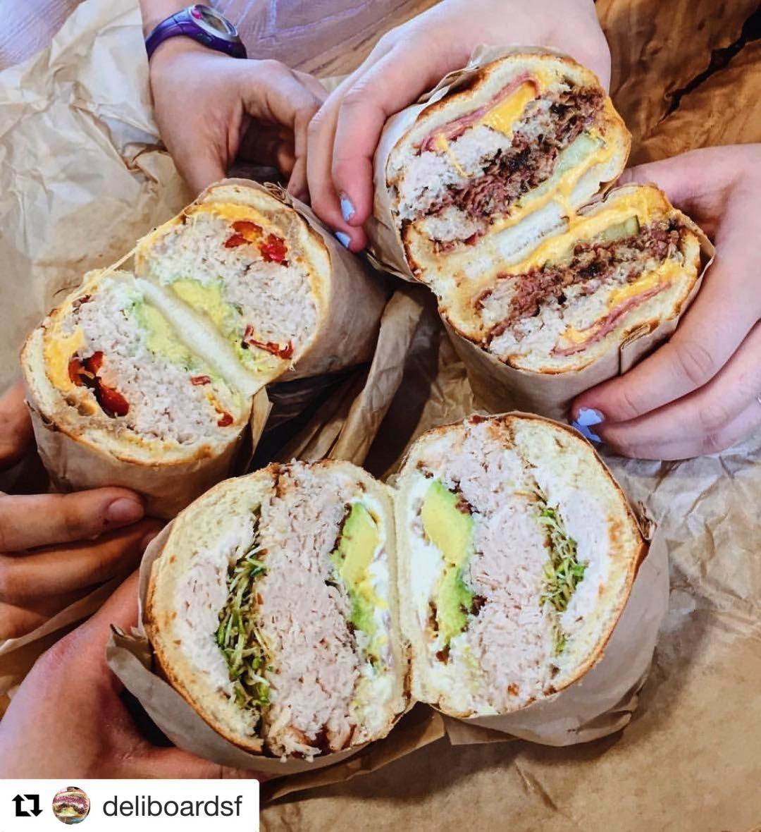 Sandwich Madness: Deli Board SF