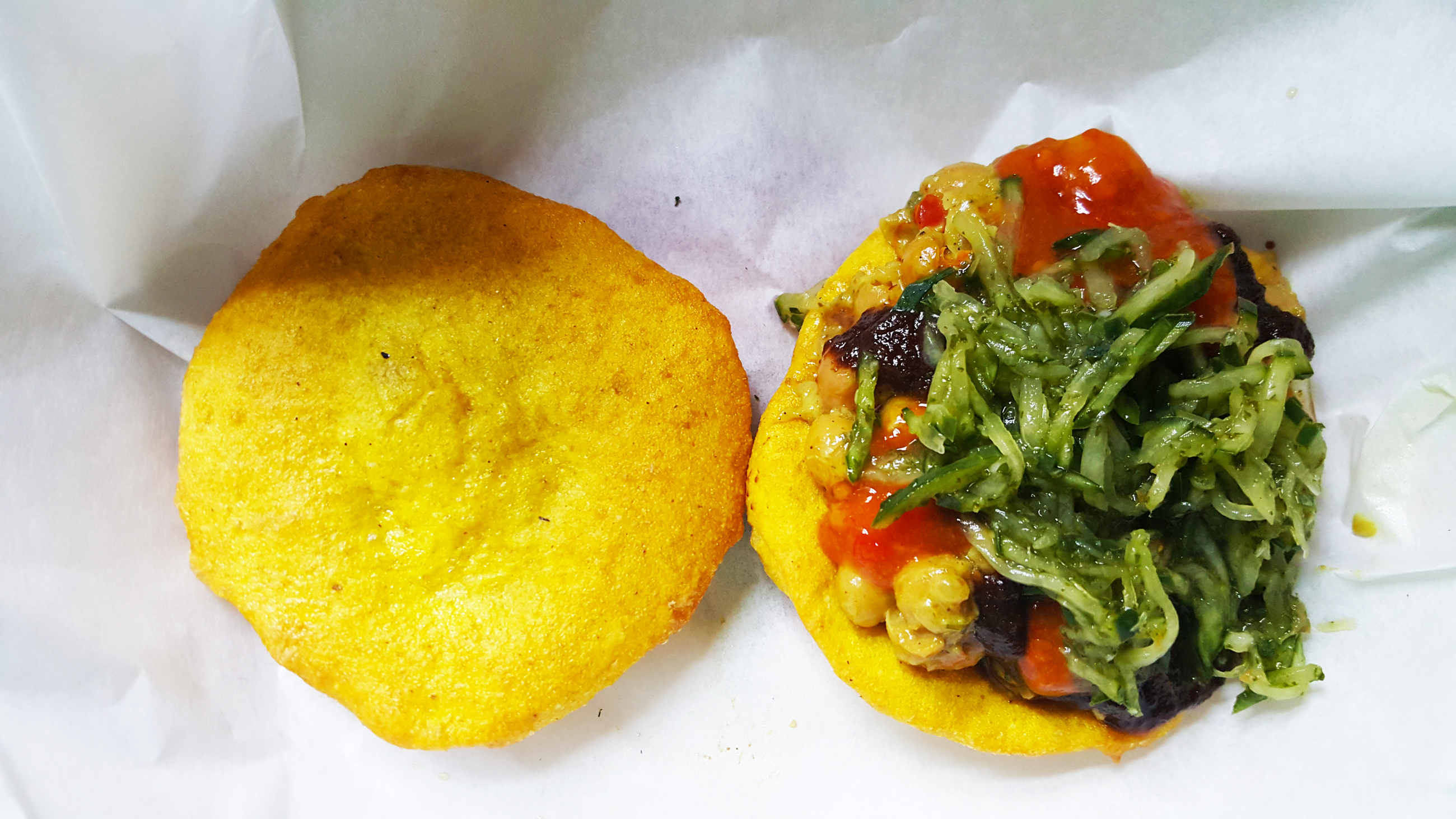 Doubles from Trinidad, a Sandwich with a Story