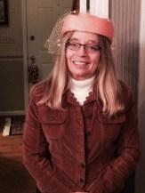 Bev wore a hat.