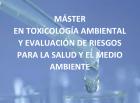 Máster en Toxicología Ambiental y Evaluación de Riesgos (4ª Edición)