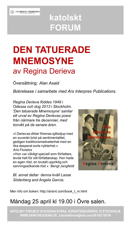 Bokpresentation, R Derieva