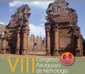 VIII Congreso de Nefrología en Paraguay.