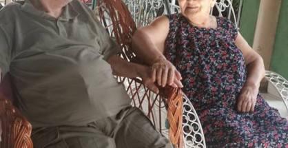 Don Silvestre Fretes Colombino y Doña Isabelina Cubilla de Fretes. (Imagen Facebook de uno de sus hijos)