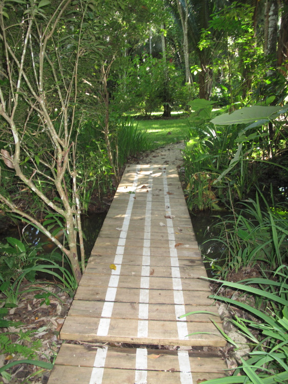 The path to the Honeymoon Suite.