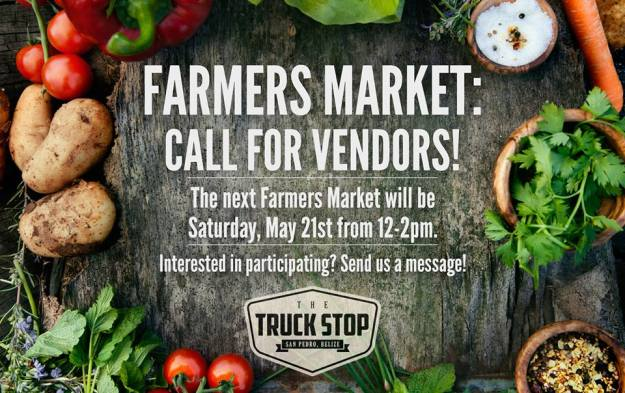 Farmers Market at the Truck Stop May 21, 2016