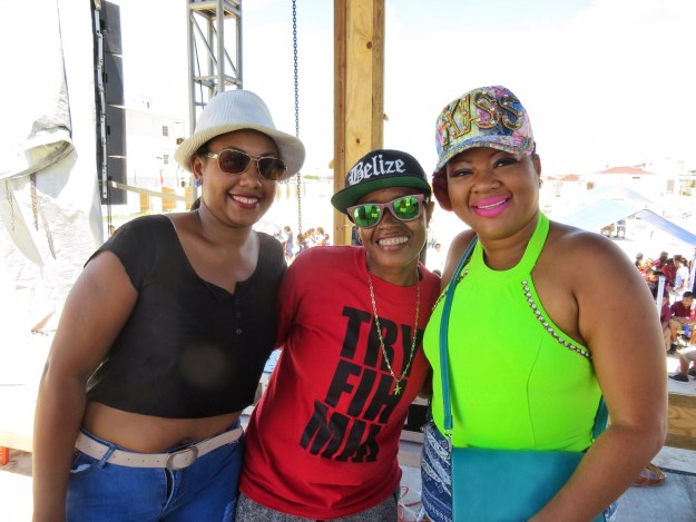Ernestine on the right and DJ Debbie