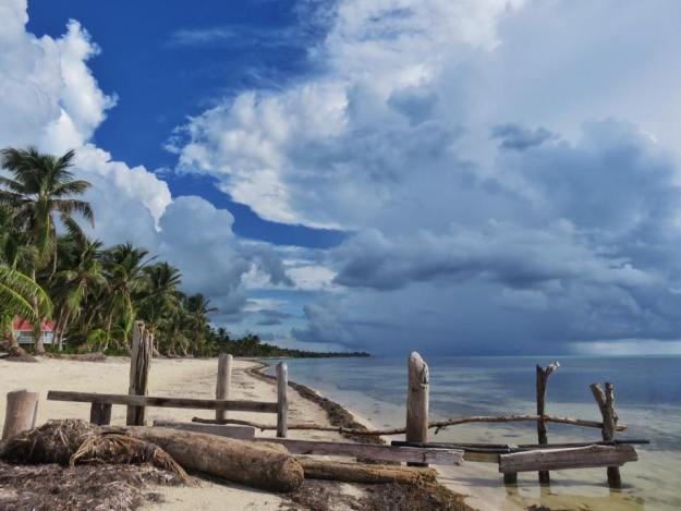 October weather North Ambergris Caye Belize