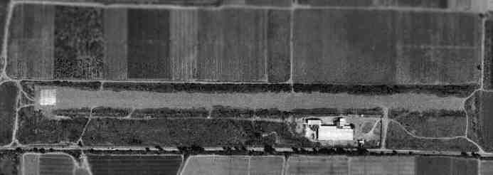 La antigua pista militar