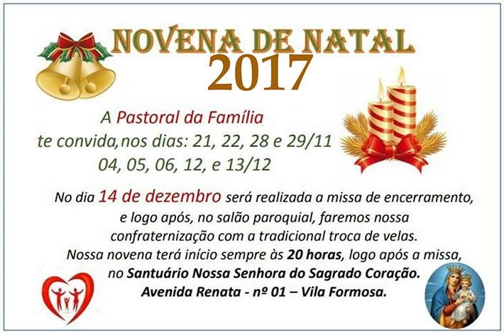 Novena de Natal 2017