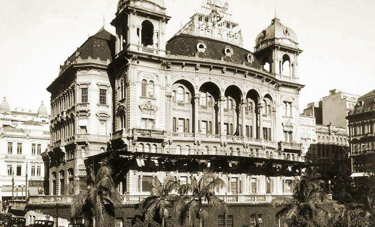 Palacete Prates em 1948.