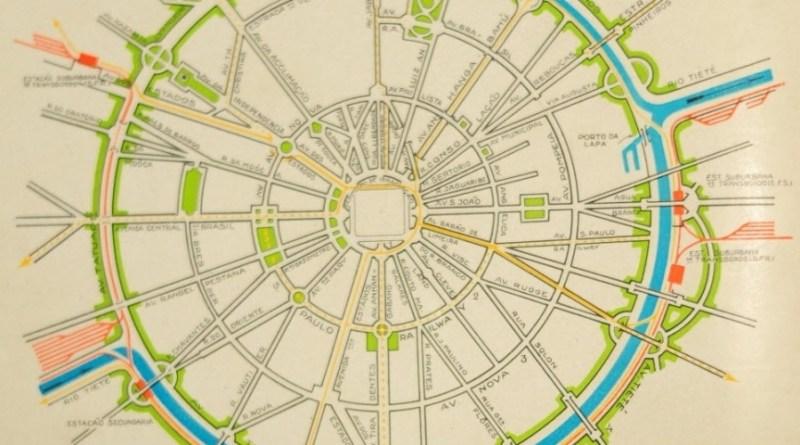Esquema Teórico do Plano de Avenidas de Prestes Maia