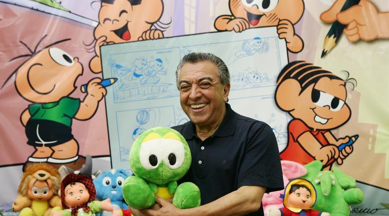 Mauricio de Sousa completará 80 anos em 2015