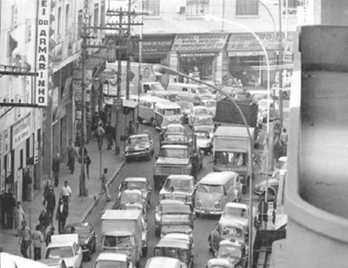 Rua 25 de Março em 1976