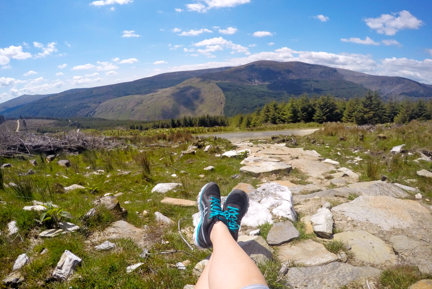 Hiking the Wicklow Way