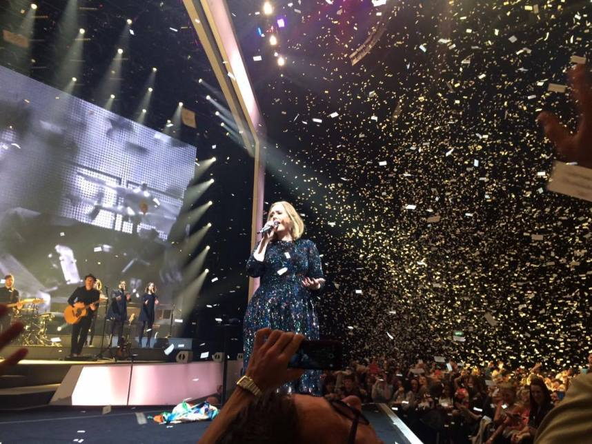 Adele at the 3 Arena Dublin
