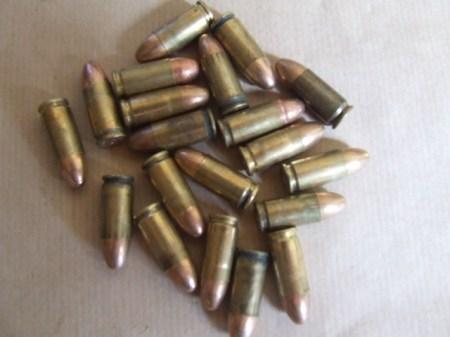 9mm inert x 20