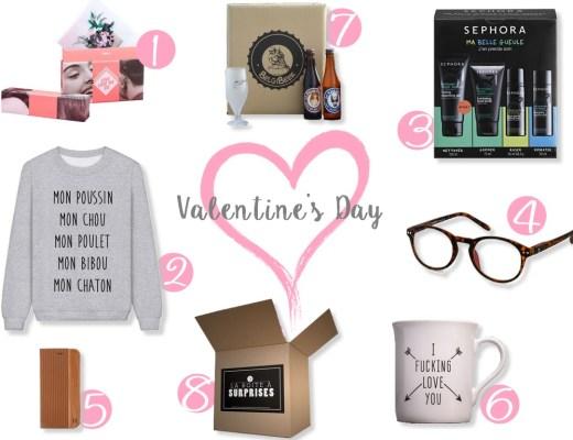 Idées cadeaux st valentin homme